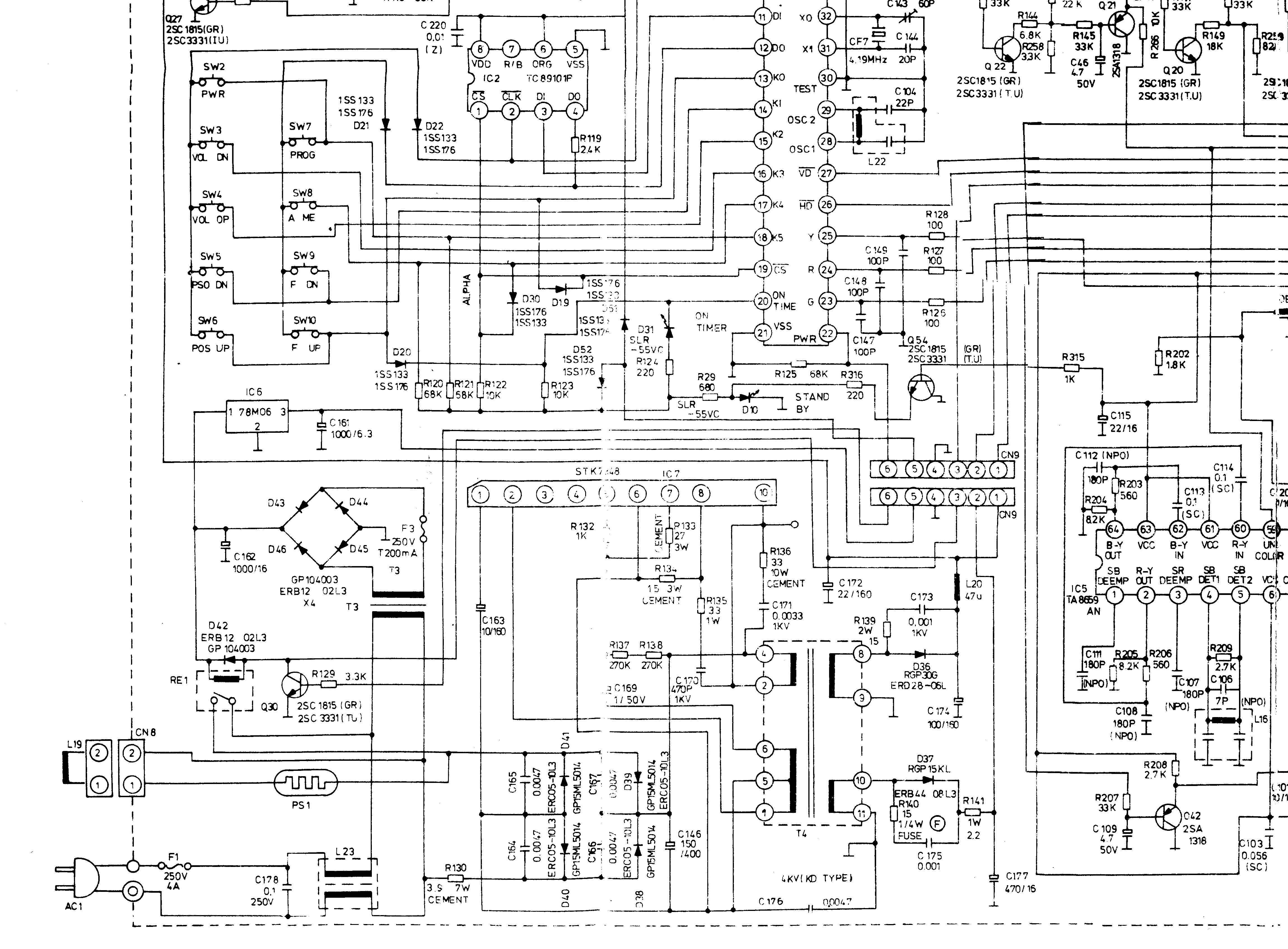 lg tv schematic wiring diagram