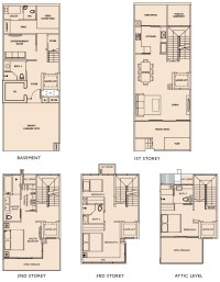 Terraced House Floor Plan Singapore