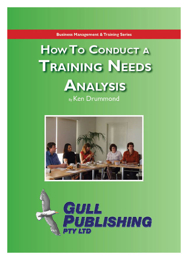 How to Conduct a Training Needs Analysis - sample needs analysis