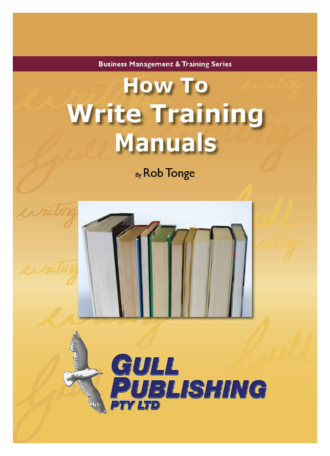 How to Write a Training Manual