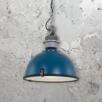 Large Vintage Industrial Pendant Light 35185 | E2 Contract ...