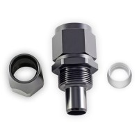 Straight PTFE e85 AN Fittings Black Hose End  e85Freaks