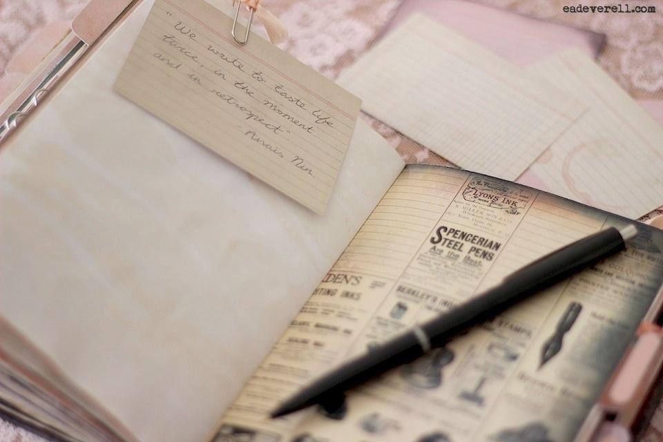 The Lady Writer Printable Journal Kit creative writing blog
