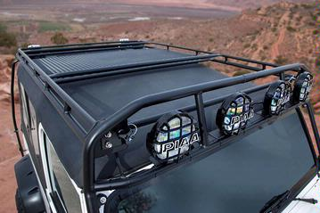 Jeep Tj Cooler Rack