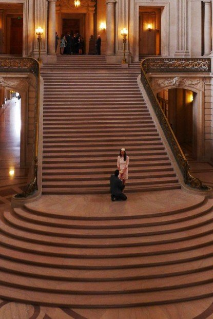 City Hall weddings; What to do in San Francisco