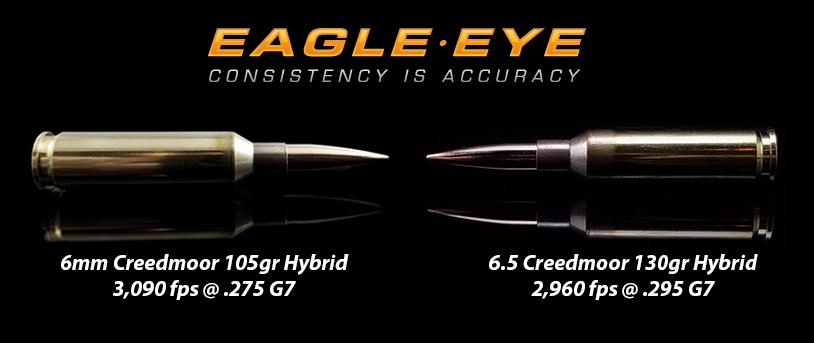 6mm Creedmoor vs 65 Creedmoor - A Ballistic Comparison - Eagle Eye Ammo