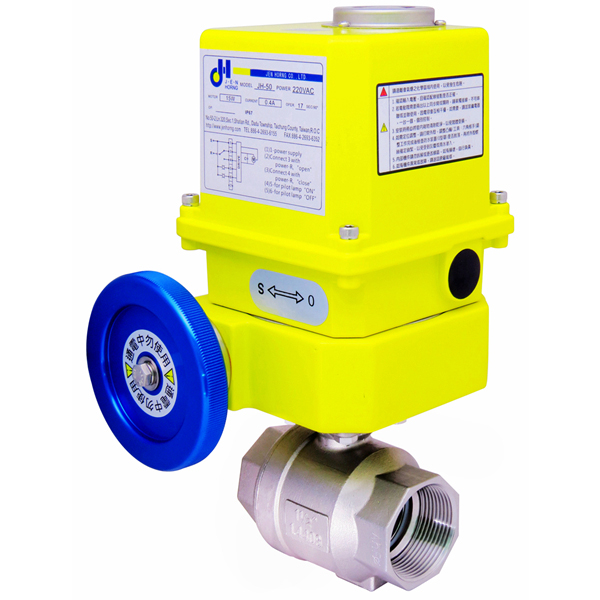 Rotary-automatic-electric-Stainless-steel-SS316-SS304-threaded-ball-valve