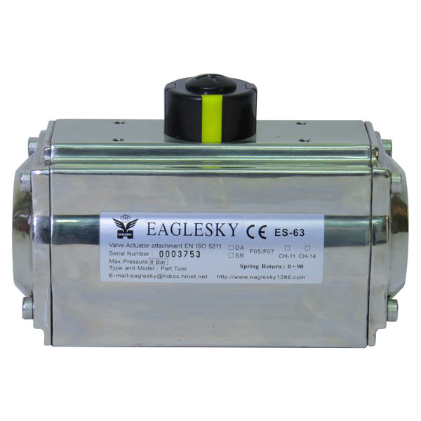 Rotary-automatic-stainless-steel-SS316-pneumatic-actuator-1