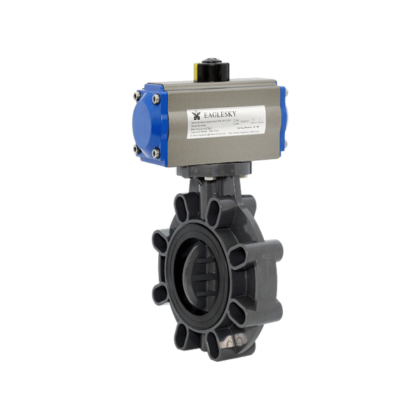 rotary-automatic-pneumatic-actuator-plastic-butterfly-valve