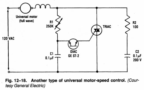 Ac Motor Speed Control Circuit Diagram Online Wiring Diagram