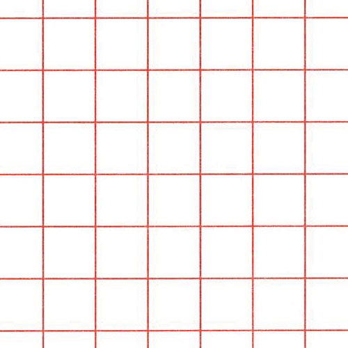 Graph Paper Red 1/4\