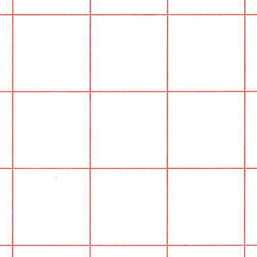 Graph Paper Red 1/2\