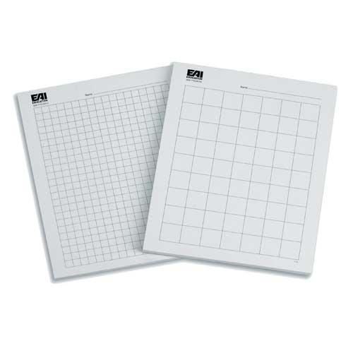 Graph Paper 1 cm - 100 Sheets - Geometry EAI Education