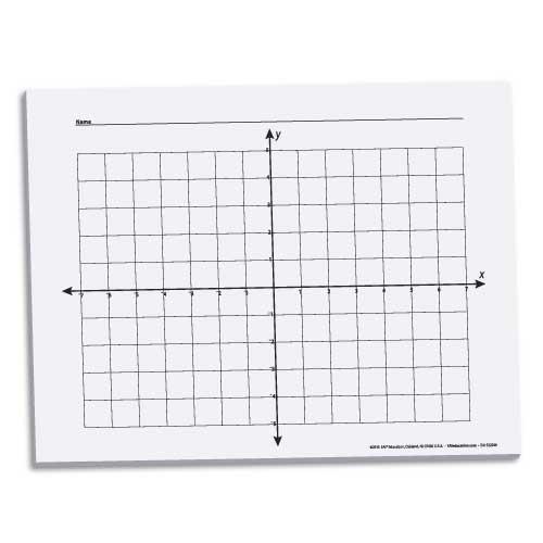 X-Y Coordinate Graph Paper 5/8\