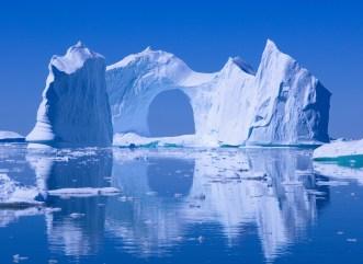 Huge Ice berg of arch