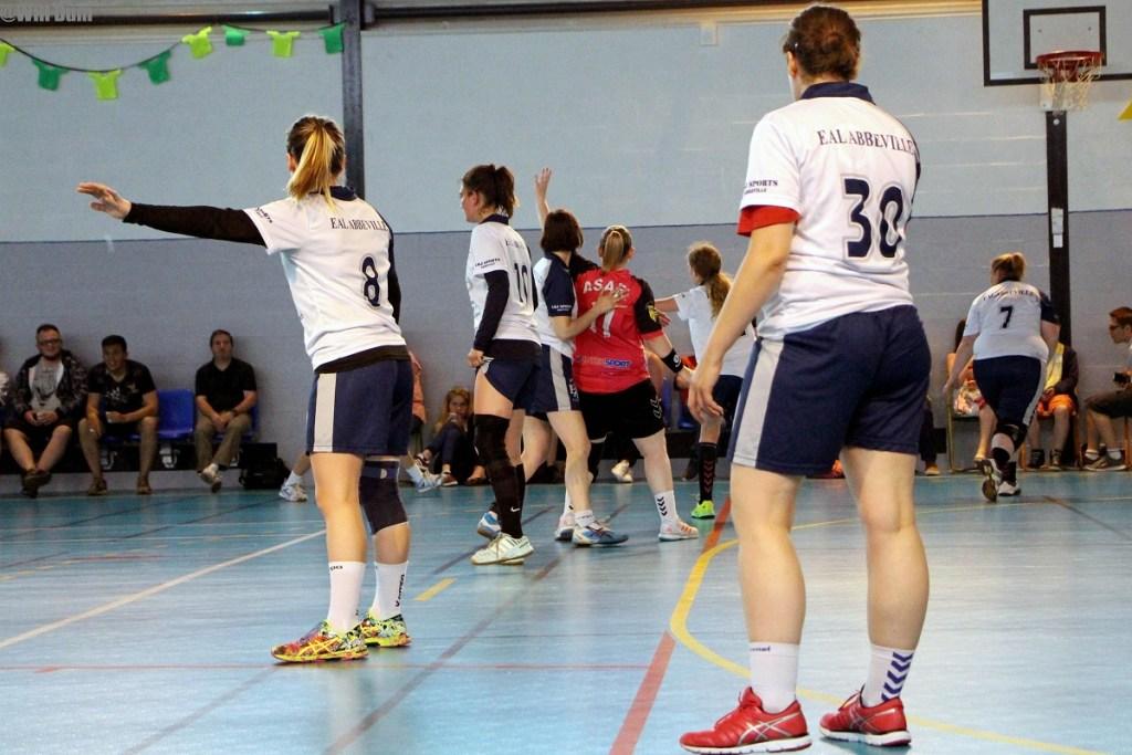 Séniors filles B contre Longpré (29)