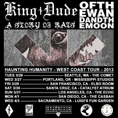 King Dude Tour