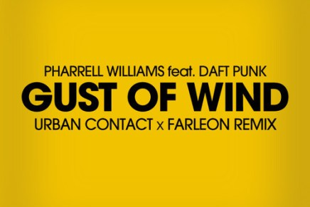 "Pharrell (ft. Daft Punk) – ""Gust Of Wind"" (Urban Contact x Farleon Remix)"