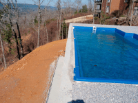 Negative Edge/ Spillover Fiberglass Pools
