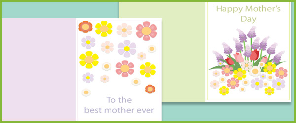 Mother\u0027s Day Card Template Free Early Years  Primary Teaching