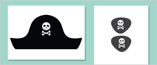 Pirate Hat Template Free Early Years  Primary Teaching Resources