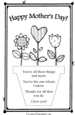 Flowers early play templates