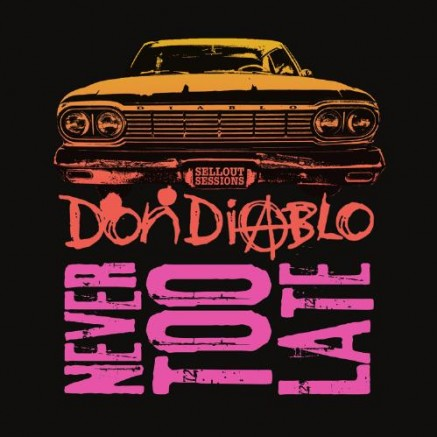 don_diablo - never too late - Album Cover