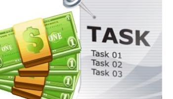 How to earn money online by working on small task?