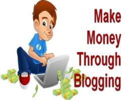 Make money through blogging