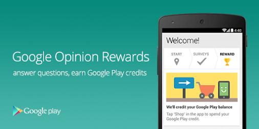 Google Opinion Rewards  - Get Play Store Rewards Free