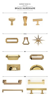 Best Brass Kitchen Hardware - Earnest Home co.