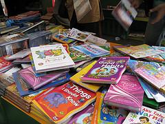 pile of children's books