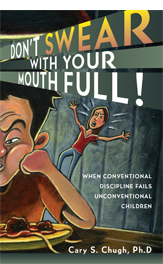 "cover of the book ""Don't Swear With Your Mouth Full"""