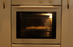 meal in oven