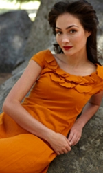 orange dress from shabbyapple.com