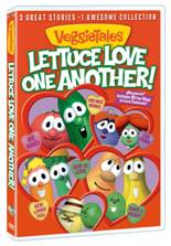 VeggieTales Lettuce Love One Another DVD cover