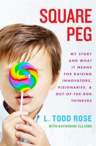 cover art for the book Square Peg