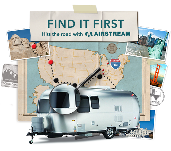 Logo for Realtor.com and Airstream giveaway July, 2013