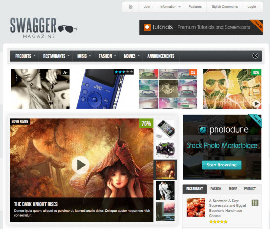WordPress Review Themes