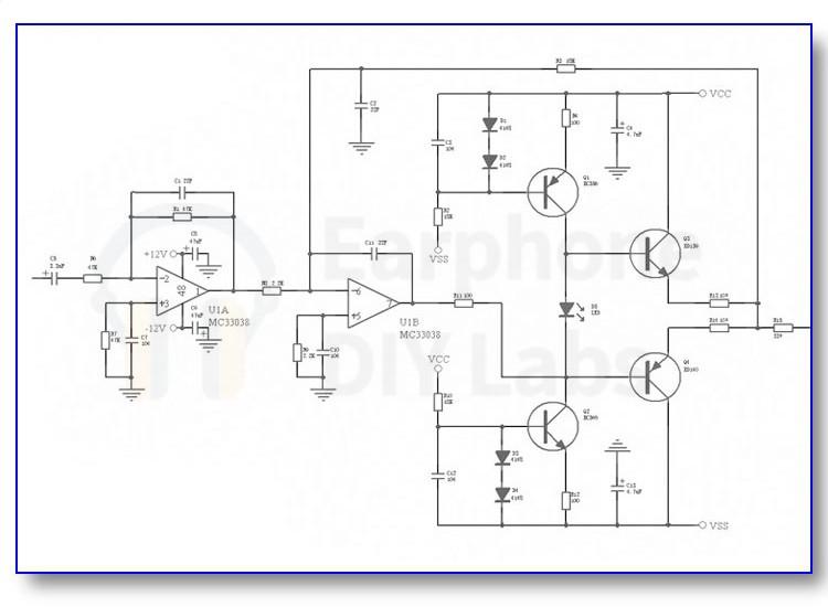 more circuit headphone amplifier