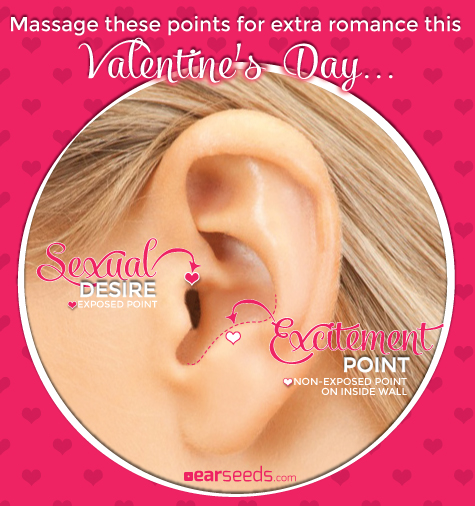 Massage These Points for Extra Romance Ear Seeds Products and