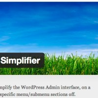 A custom WordPress plugin to allow admins to simplify their user's administrative menu options. User Admin Simplifier