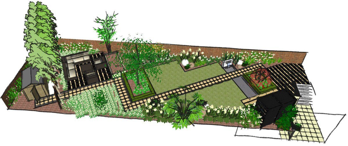 Japanese Garden Design London Oriental Influence In North London   How To  Design A Japanese Garden
