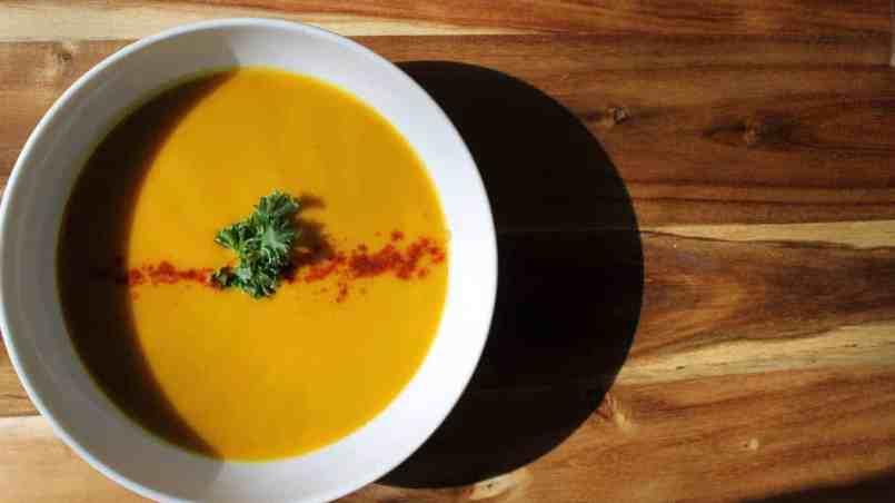 Butternut Squash And Pear Soup With Garam Masala Recipe — Dishmaps