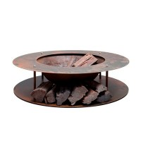 Outdoor Heating - Wood Store Fire Pit