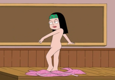and steve and hayley smith american dad naked