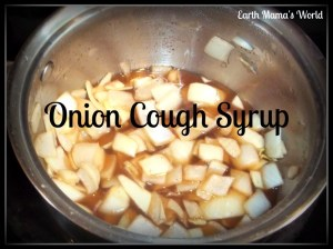 Onion Cough Syrup