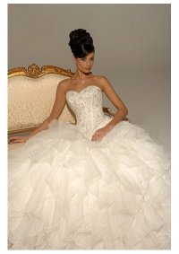 Big Ball Gown Wedding Dresses
