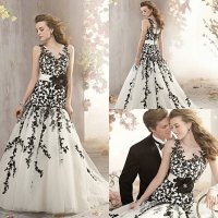 Black White And Silver Wedding Dresses - Wedding and ...