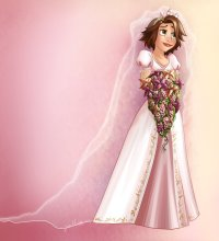 Disney Rapunzel Wedding Dress - Wedding and Bridal Inspiration